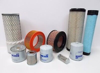 Service Filters Kits - Air Fuel Oil For Lister Petter Tr1 Ts1 Engines