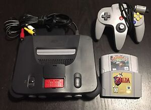 Nintendo 64 System plus 2 games N64