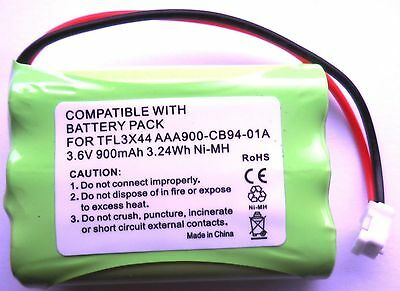 RECHARGEABLE BATTERY 3.6V COMPATIBLE WITH MOTOROLA MBP26 BABY MONITOR