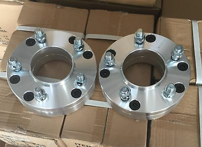 4pc 2 Inch Hub centric Wheel Adapters 6x135 to 5x135 Use 5 Lug Wheels On 6