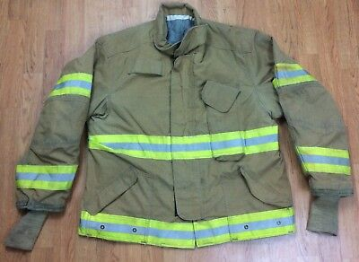 Janesville Firefighter Bunker Turnout Jacket 48 Chest X 29r Length