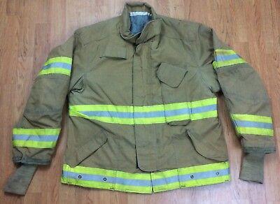 Janesville Firefighter Bunker Turnout Jacket 48 Chest X 29r Length