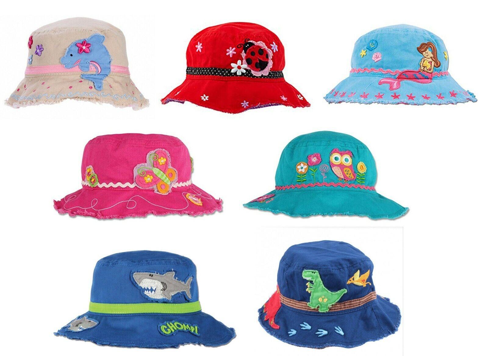 Kinder Sonnenhut, Stephen Joseph, Hai, Meerjungfrau, Delphin, Marienkäfer
