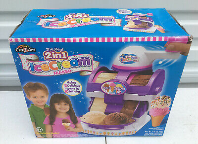 Cra-Z-Art The Real 2 in 1 Flavors Ice Cream