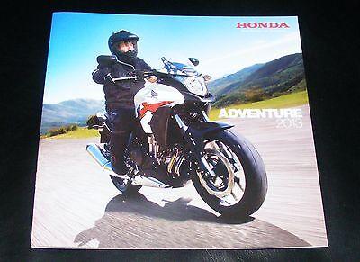 Honda Adventure Brochure 2013 - Crosstourer Crossrunner NC700X CB500X CRF250L