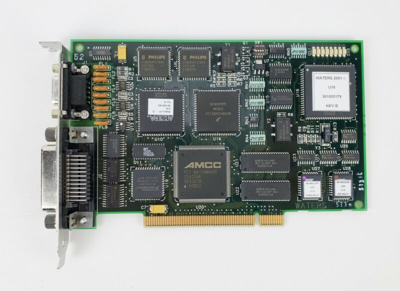 Waters HPLC 361000179 Rev B Bus Lace LAC/E PCI Card