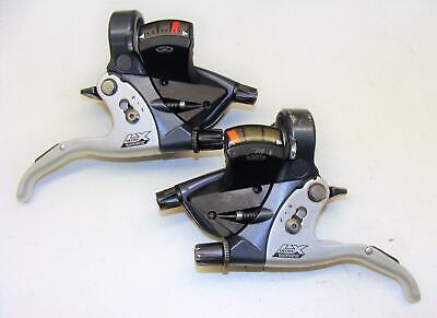 Right lever shifter NOS NIB Black Gold Shimano Deore LX 9 speed v-brake