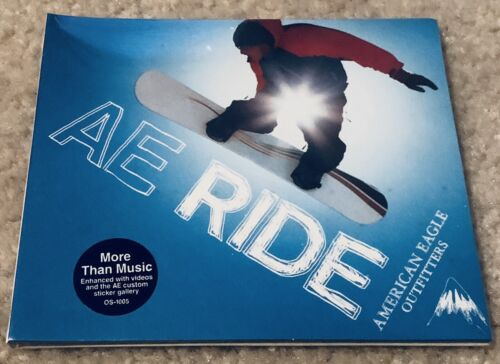 American Eagle Outfitters - AE Ride 2002 RarePromo Sampler CD. SEALED UNOPENED - $4.76