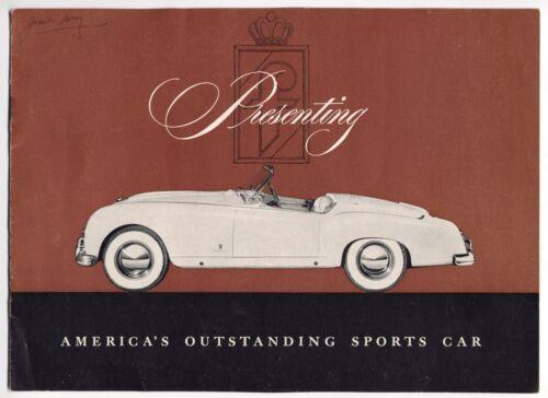 Nash Healey brochure Prospekt, 1953