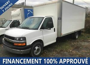 2012 Chevrolet Express 3500 **84$/SEM*FINANCEMENT 100% APPROUVÉ*
