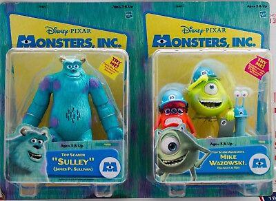 Disney Pixar Monsters Inc. Talking James P. Sullivan Sulley & Mike Wazlowski NOS