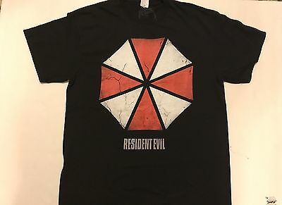 Resident Evil Umbrella Large Logo 20th Anniversary Edition Bnwt