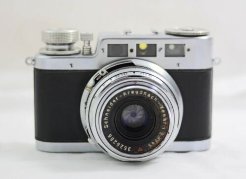 VINTAGE W.VOSS DIAX IIa RANGEFINDER CAMERA WITH 45MM F2.8 XENAR LENS 1954-56