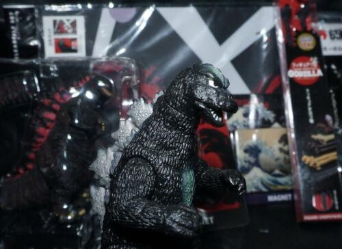 Bandai Godzilla 1975 (2003 release) plus bonus items
