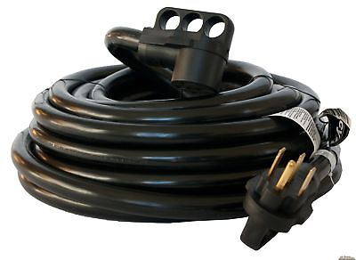 50 foot 50 amp RV Extension Cord Power Supply Cable for Trailer Motorhome Camper