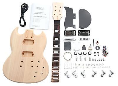 Rock Tile (Rocktile Double Cut E-Gitarre Bausatz selber bauen Do It Yourself Kit DIY Set)
