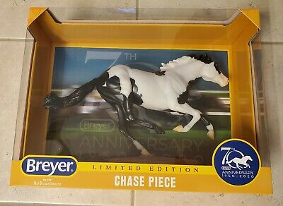 Breyer 70th Anniversary Chase Piece Black & White Pinto Smarty Jones #1825 NIB