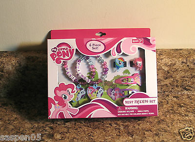 My Little Pony Best Friends JEWELRY SET 6 Piece Dress Up Costume