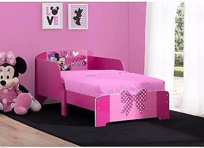 Girls Toddler Bed Frame Wood Twin Size Disney Modern Kids Bedroom Furniture New