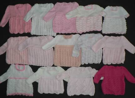 """4x PREM BABY KNITS Chest circumference 36cm/14"""" Canning Vale Canning Area Preview"""