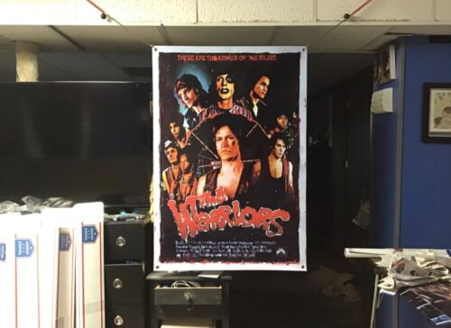 BIG NEW! 45x30 THE WARRIORS Vinyl banner POSTER movie scarface godfather art.