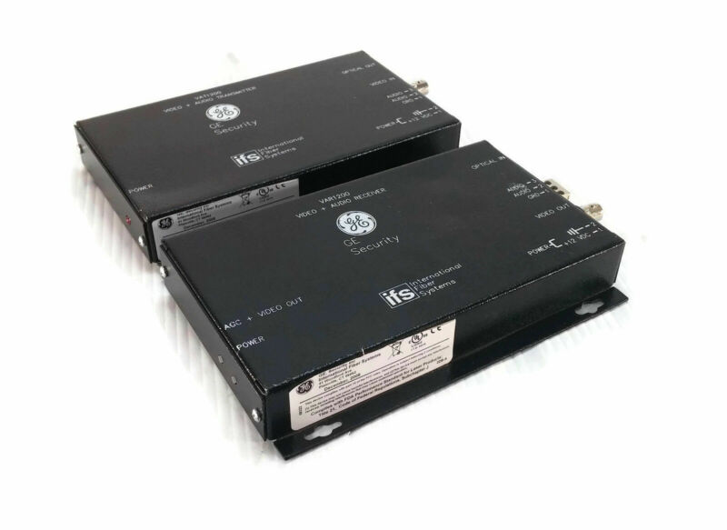Lot Of 2 GE SECURITY VAT1200 IFS VIDEO WITH ONE-WAY AUDIO