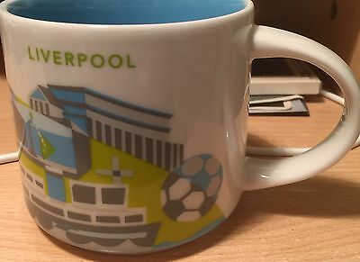 Starbucks Liverpool (England) YAH You Are Here 2017 UK Mug With Box