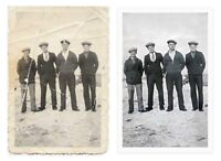 Photo Restoration service - prices starting at $25 per photo