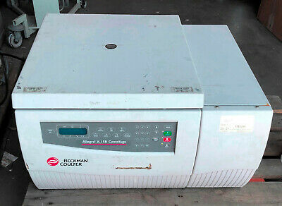 Beckman Coulter Allegra X-15r Refrigerated Benchtop Centrifuge W Rotor Buckets