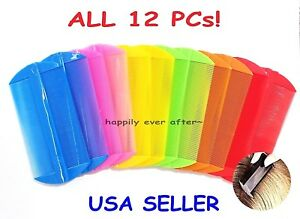 Lice hair comb - All 12 PCs The Best Head Lice Comb, Nit Hair Comb *US SELLER*
