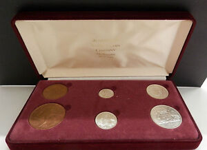 Australia-1954-gift-pack-coin-set-Birthday-Anniversary-60th