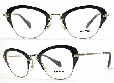 MIU MIU Fassung Glasses VMU53O VAB-1O1 Gr 50 Nonvalenz BF 126 T118