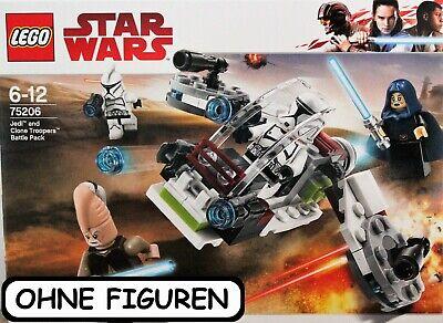 LEGO ® STAR WARS JEDI UND CLONE TROOPER PACK   75206   OHNE FIGUREN   NEUWERTIG ()