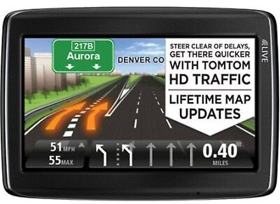 "NEW TomTom GO LIVE 1530M 5"" GPS System USA LIFETIME MAPS + HD TRAFFIC Bluetooth"