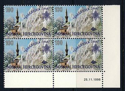 1996 Bosnia and Herzegovina . Winter Festival BLOCK . Mint Never Hinged