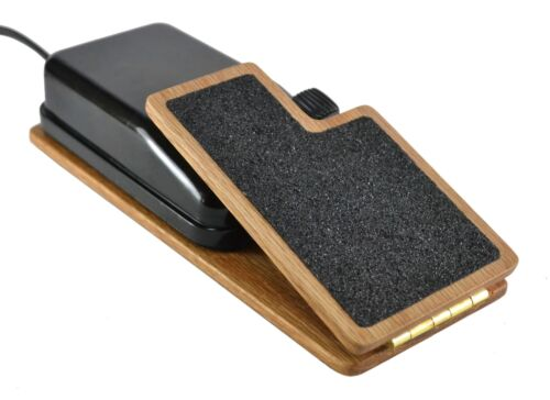 Singer Featherweight Foot Pedal Adapter Control Pedal Adapter - Handcrafted Oak