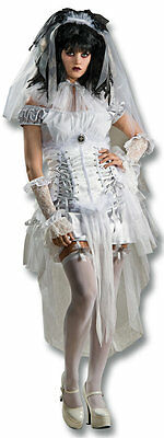 Gothic Mistress Monster Bride Vampire Dress Up Halloween Sexy Adult Costume - Vampire Dress Up