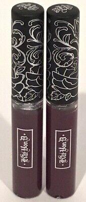 KAT VON D Lot Of 2 Everlasting Liquid Lipstick Mini SINNER 0.1 oz 3 ml (Kat Von D Everlasting Liquid Lipstick Mini)