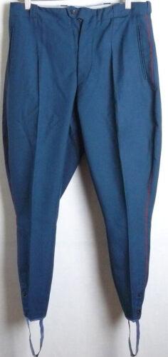 Gallifett Vintage Russian Breeches Officer Parade Soviet Army Uniform Trousers