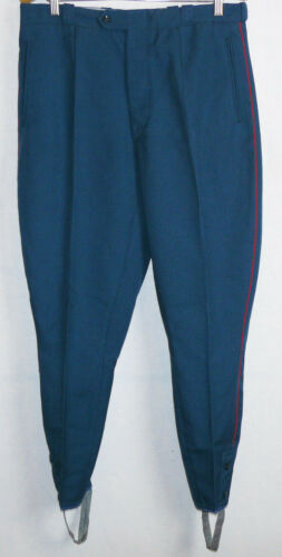 Breeches Parade Vintage Soviet Army Officer Parade Uniform Pants Galife Trousers