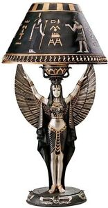 Isis-Goddess-of-Power-Beauty-Sculptured-Table-Lamp-In-Home-Egyptian-Products