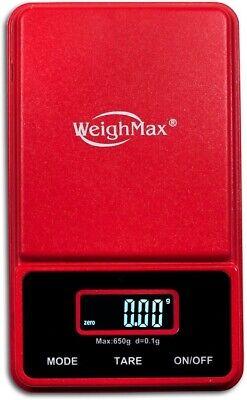 Weighmax Nj100 Mini Digital Scale Jewelry Pocket Balance Weight Gram Lcd Usa