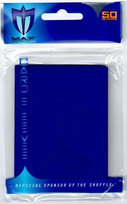 Max Protection YUGIOH Card Sleeves Flat BLUE (50 Count) Yu-Gi-Oh! Blue Card Sleeves