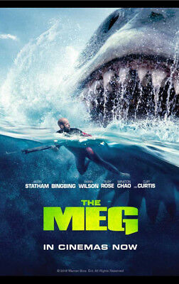 The Meg (DVD 2018) - Brand New In Wrapper!