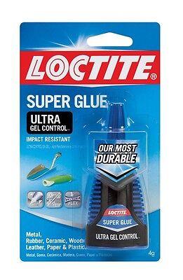 Henkel Gel Glue - Henkel-Loctite 1363589 4 Gram Super Glue Ultra Gel Control, Clear