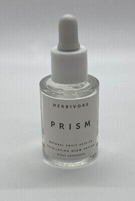NEW Herbivore PRISM Natural Fruit Acid 5% Exfoliating Glow Potion | 10mL Mini
