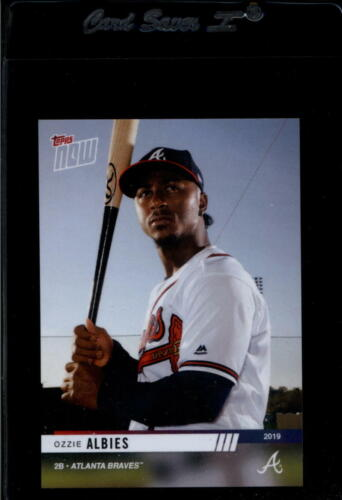 2019 TOPPS NOW ROAD TO OPENING DAY OD-227 OZZIE ALBIES NM-MT BRAVES - $0.19