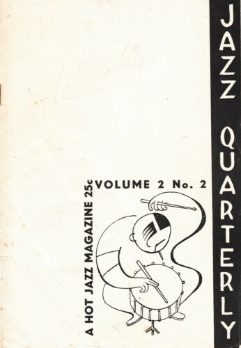 RARE JAZZ QUARTERLY: A HOT JAZZ MAGAZINE ~ VOL. 2 NO. 2 - 1944