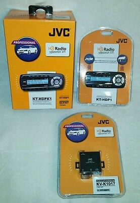 JVC KT-HDPK1, Transportable HD Radio Receiver KT-HDP1 + Install Kit  KV-K1017