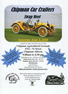 SWAP MEET  CHIPMAN AB,   JUNE 2, 2018